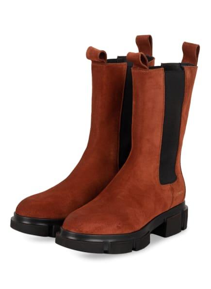 COPENHAGEN Chelsea-Boots CROSTA, Farbe: DUNKELROT (Bild 1)