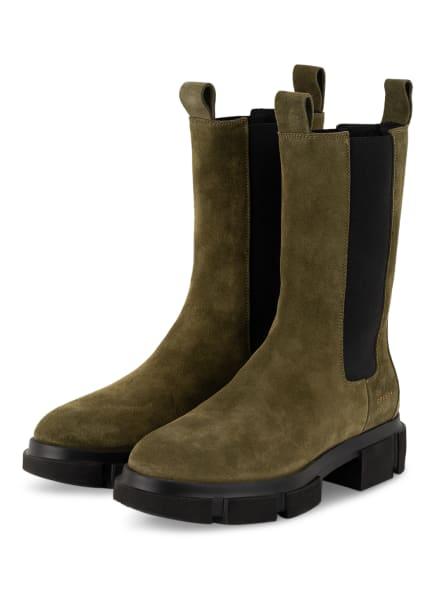 COPENHAGEN Chelsea-Boots CROSTA, Farbe: OLIV (Bild 1)