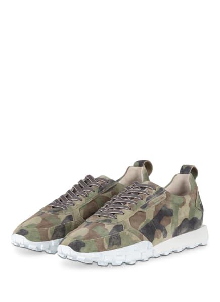 KENNEL & SCHMENGER Sneaker BOX, Farbe: OLIV (Bild 1)