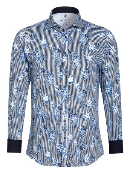 DESOTO Jerseyhemd Slim Fit , Farbe: BLAU/ WEISS/ HELLBLAU (Bild 1)
