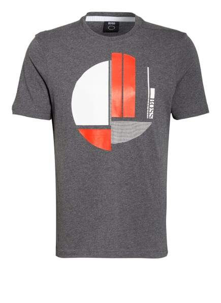 BOSS T-Shirt, Farbe: DUNKELGRAU (Bild 1)