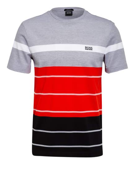 BOSS T-Shirt TEE 13, Farbe: SCHWARZ/ ROT/ WEISS (Bild 1)