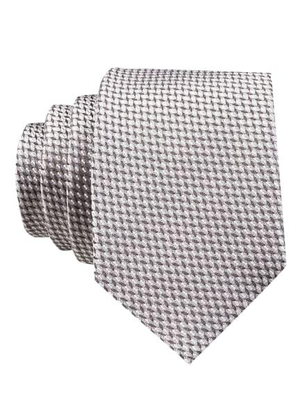HUGO Krawatte, Farbe: HELLGRAU/ WEISS/ DUNKELGRAU (Bild 1)
