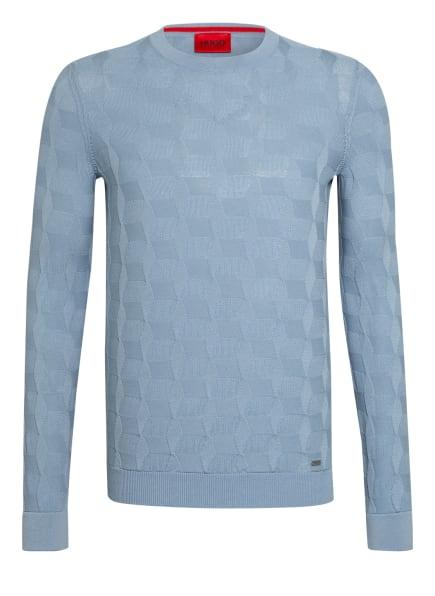 HUGO Pullover SWEAVER, Farbe: 428 MEDIUM BLUE (Bild 1)
