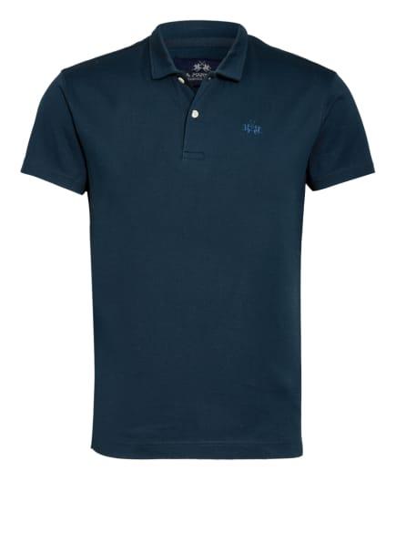 LA MARTINA Piqué-Poloshirt Slim Fit , Farbe: DUNKELBLAU (Bild 1)