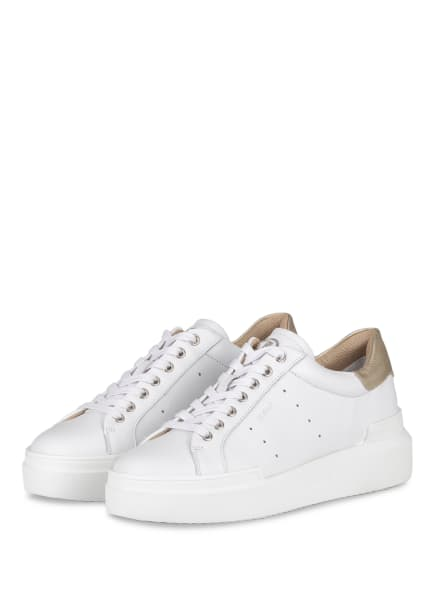 BOGNER Plateau-Sneaker HOLLYWOOD, Farbe: WEISS/ GOLD (Bild 1)