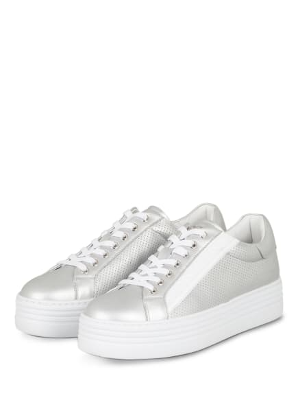 BOGNER Plateau-Sneaker , Farbe: SILBER (Bild 1)