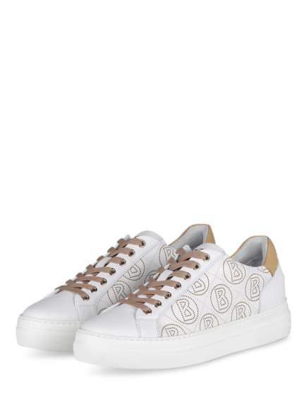 BOGNER Plateau-Sneaker BARCELONA, Farbe: WEISS (Bild 1)