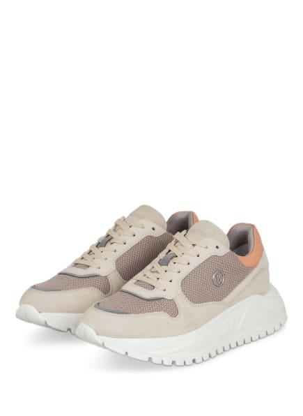 BOGNER Plateau-Sneaker MALAGA , Farbe: BEIGE (Bild 1)