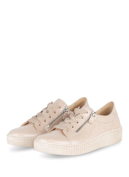 Gabor Plateau-Sneaker, Farbe: CREME (Bild 1)