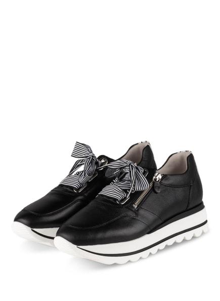 Gabor Plateau-Sneaker LAS VEGAS, Farbe: SCHWARZ (Bild 1)