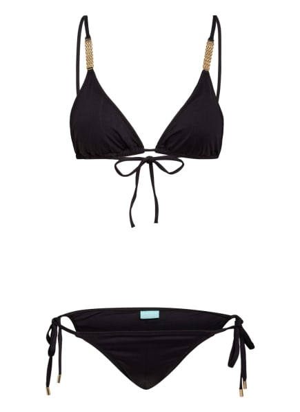 MELISSA ODABASH Triangel-Bikini MALDIVES, Farbe: SCHWARZ (Bild 1)