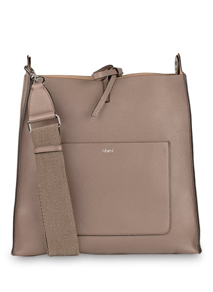 abro Hobo-Bag RAQUEL mit Pouch, Farbe: TAUPE (Bild 1)