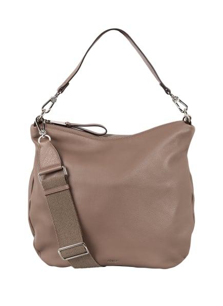 abro Hobo-Bag ERNA SMALL, Farbe: TAUPE (Bild 1)
