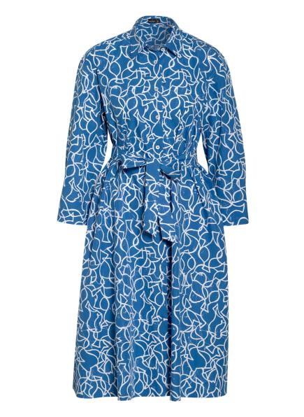 van Laack Hemdblusenkleid KUNYA, Farbe: BLAU/ WEISS (Bild 1)