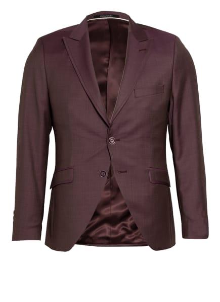 WILVORST Anzugsakko Extra Slim Fit, Farbe: DUNKELROT (Bild 1)