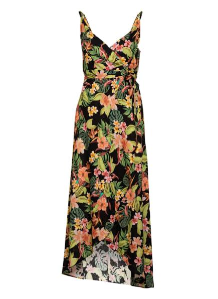 BANANA MOON Strandkleid MOLOKAIDAY MIRSEY mit Leinen, Farbe: SCHWARZ/ ROT/ GRÜN (Bild 1)