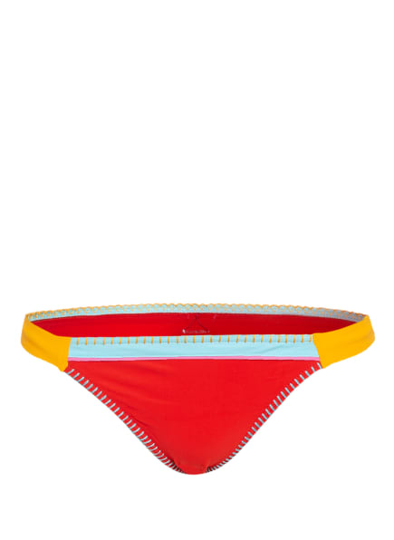 BANANA MOON Bikini-Hose TEKNICOLOR FRESIA, Farbe: ROT/ TÜRKIS/ ORANGE (Bild 1)