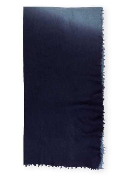 Mouleta Cashmere-Schal , Farbe: BLAU/ BLAUGRAU (Bild 1)
