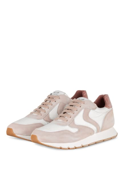 VOILE BLANCHE Plateau-Sneaker JULIA , Farbe: ROSÉ/ WEISS (Bild 1)