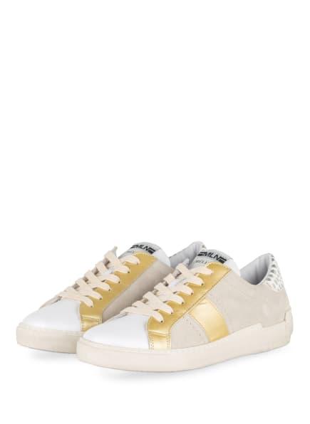 MÉLINÉ Sneaker NKC 1381, Farbe: WEISS/ GOLD (Bild 1)
