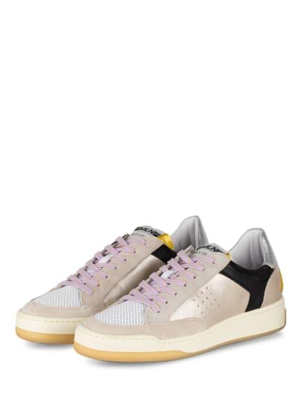 MÉLINÉ Sneaker, Farbe: SILBER/ SCHWARZ/ WEISS (Bild 1)