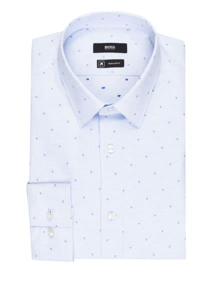 BOSS Hemd ELIOTT Regular Fit, Farbe: WEISS/ HELLBLAU/ DUNKELBLAU (Bild 1)
