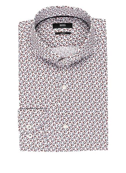 BOSS Hemd JEMERSON Slim Fit, Farbe: WEISS/ BRAUN/ SCHWARZ (Bild 1)