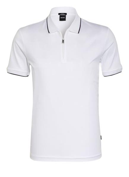 BOSS Poloshirt POLSTON Slim Fit, Farbe: WEISS (Bild 1)