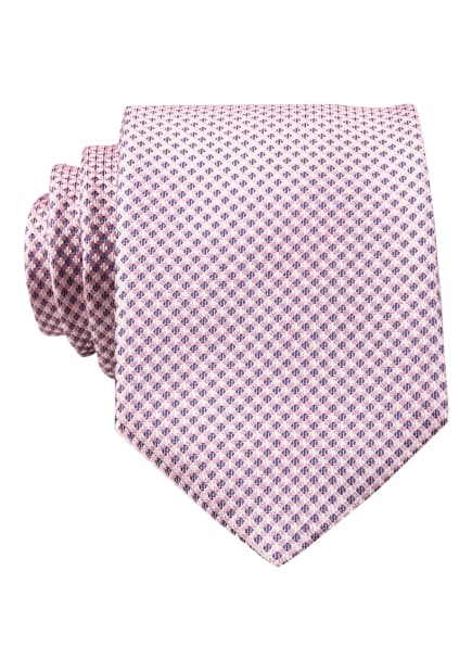 BOSS Krawatte, Farbe: ROSA/ BLAU (Bild 1)