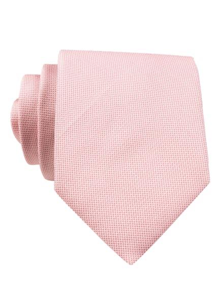 BOSS Krawatte , Farbe: HELLROT/ WEISS (Bild 1)