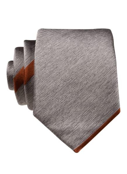 BOSS Krawatte, Farbe: GRAU/ BRAUN (Bild 1)