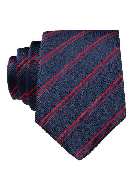 BOSS Krawatte, Farbe: BLAU/ ROT (Bild 1)