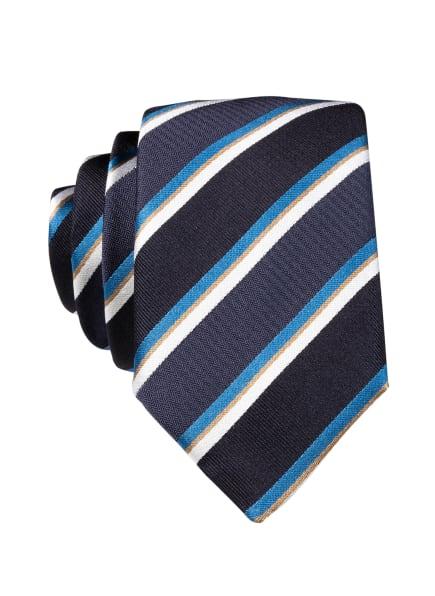 BOSS Krawatte, Farbe: DUNKELBLAU/ BLAU/ SCHWARZ (Bild 1)