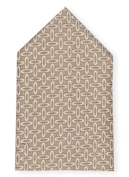 strellson Einstecktuch mit Seide, Farbe: BEIGE/ ECRU (Bild 1)