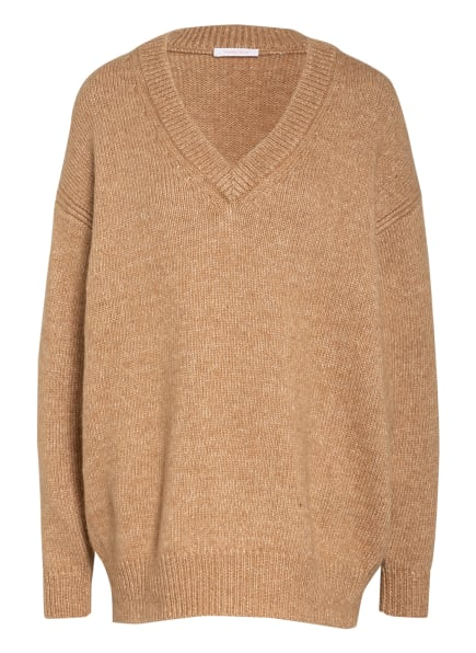 SEE BY CHLOÉ Oversized-Pullover, Farbe: CAMEL/ BEIGE (Bild 1)