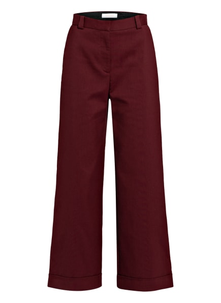 SEE BY CHLOÉ Culotte, Farbe: DUNKELROT (Bild 1)