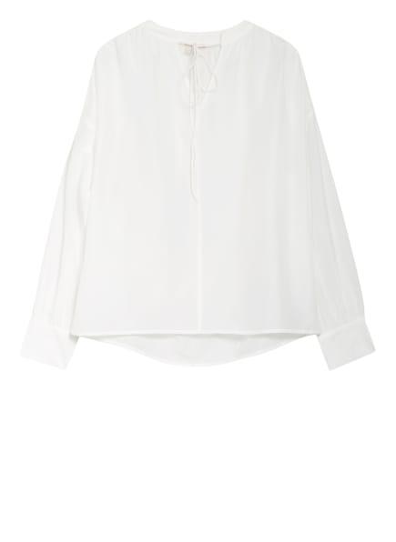 Mrs & HUGS Blusenshirt mit Seide, Farbe: WEISS (Bild 1)