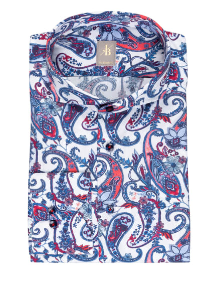 Jacques Britt Hemd SARDEGNA Custom Fit, Farbe: ROT/ BLAU/ WEISS (Bild 1)