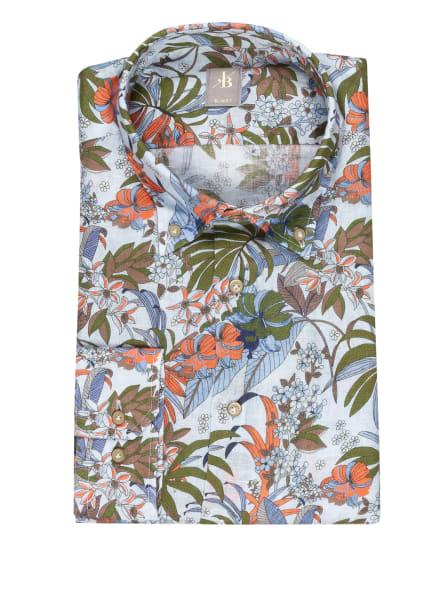 Jacques Britt Hemd TREVISO Slim Fit, Farbe: HELLBLAU/ GRÜN/ ORANGE (Bild 1)