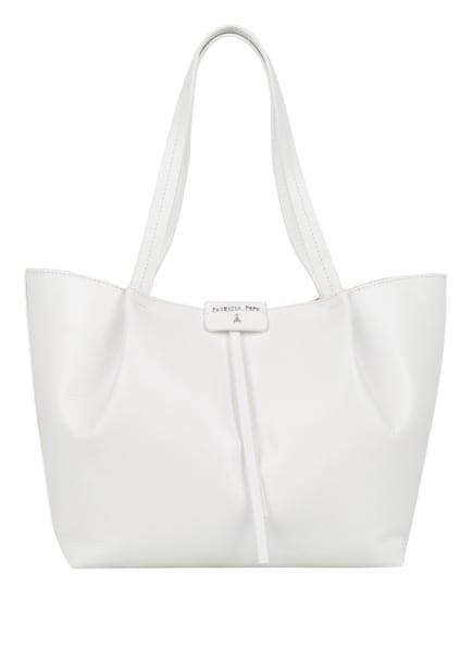 PATRIZIA PEPE Handtasche mit Pouch, Farbe: WEISS (Bild 1)
