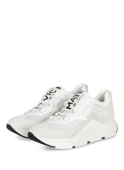 VIC MATIÉ Plateau-Sneaker , Farbe: WEISS (Bild 1)