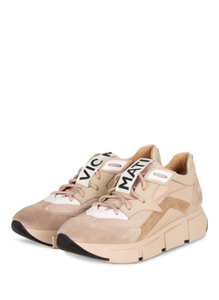 VIC MATIÉ Plateau-Sneaker , Farbe: NUDE/ CREME (Bild 1)