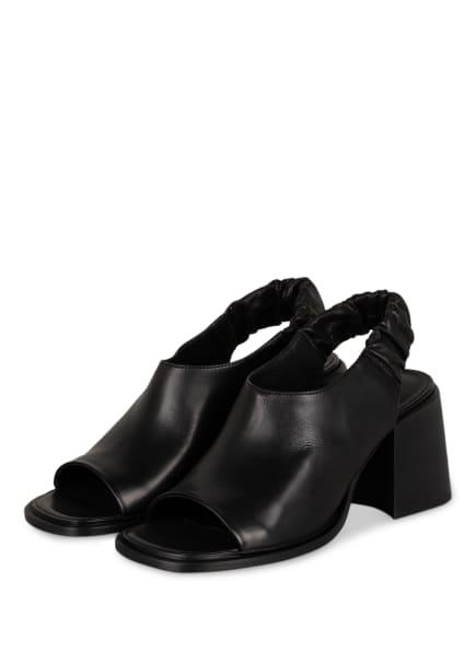 VIC MATIÉ Sandaletten, Farbe: SCHWARZ (Bild 1)