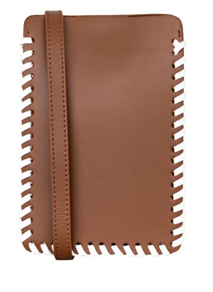ELLEME Smartphone-Tasche, Farbe: BRAUN (Bild 1)
