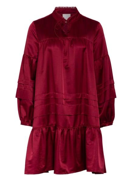 Mrs & HUGS Kleid, Farbe: DUNKELROT (Bild 1)