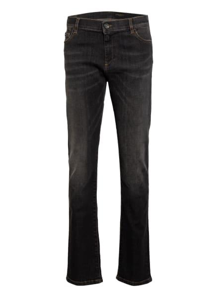 DOLCE&GABBANA Jeans Regular Stretch Fit, Farbe: DUNKELGRAU (Bild 1)