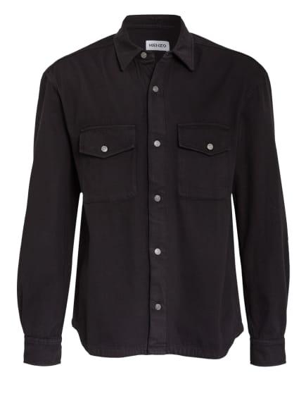KENZO Jeans-Overshirt , Farbe: SCHWARZ (Bild 1)
