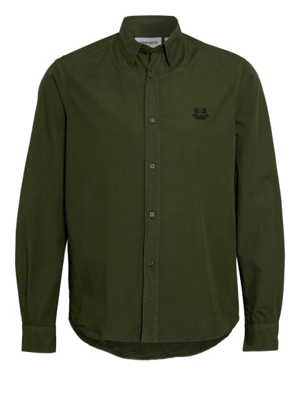 KENZO Hemd Comfort Fit, Farbe: GRÜN (Bild 1)