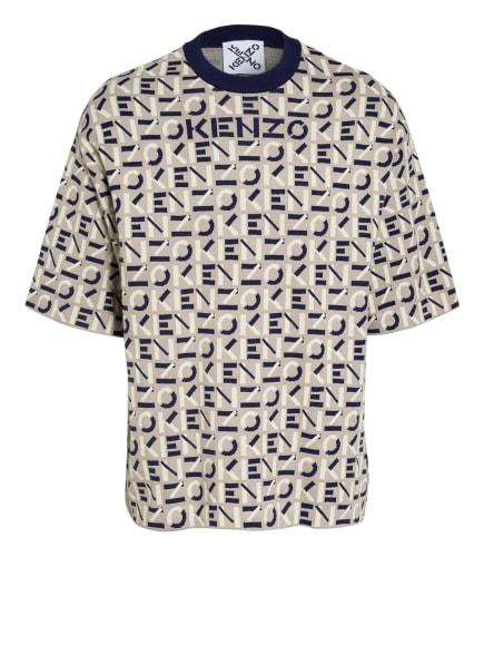 KENZO Strickshirt, Farbe: CREME/ SCHWARZ/ ECRU (Bild 1)